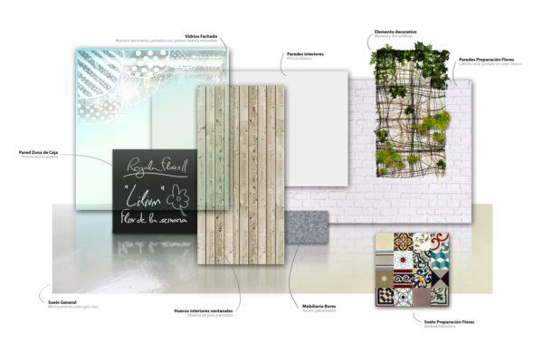 Floristería Materiales
